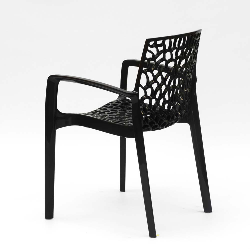 miniatuur 21 - Polypropyleen stoelen armleuningen tuin cafès Grand Soleil Gruvyer Arm