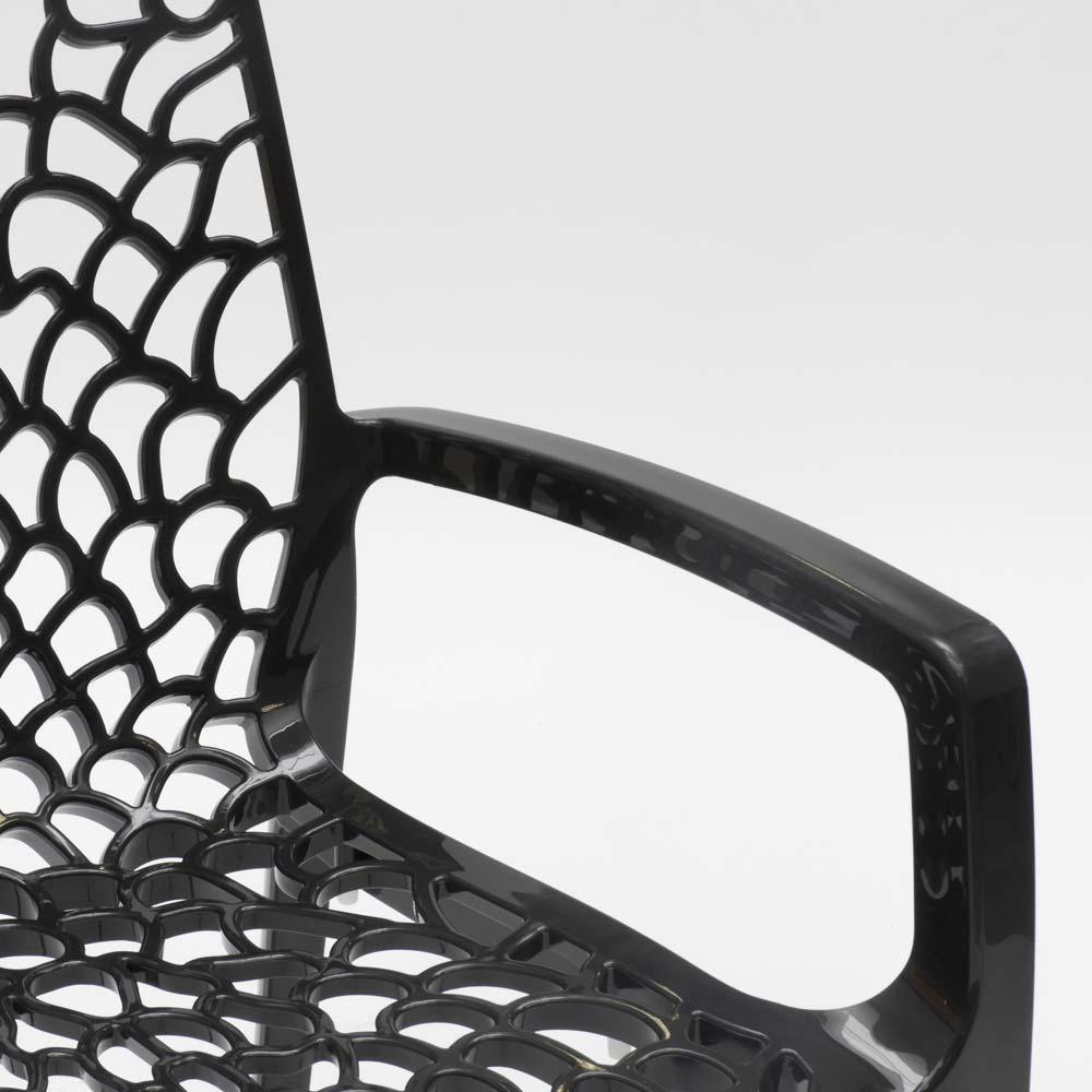 miniatuur 22 - Polypropyleen stoelen armleuningen tuin cafès Grand Soleil Gruvyer Arm