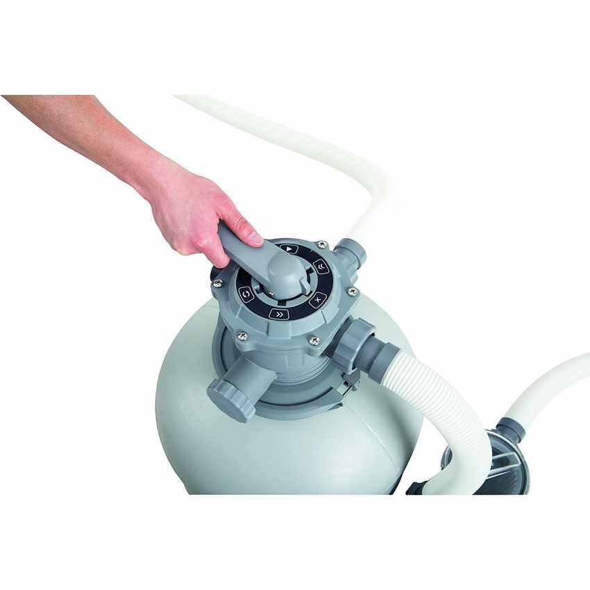 Bestway 58366 Pompa Filtro a Sabbia per Piscina Fuori Terra Intex - migliore