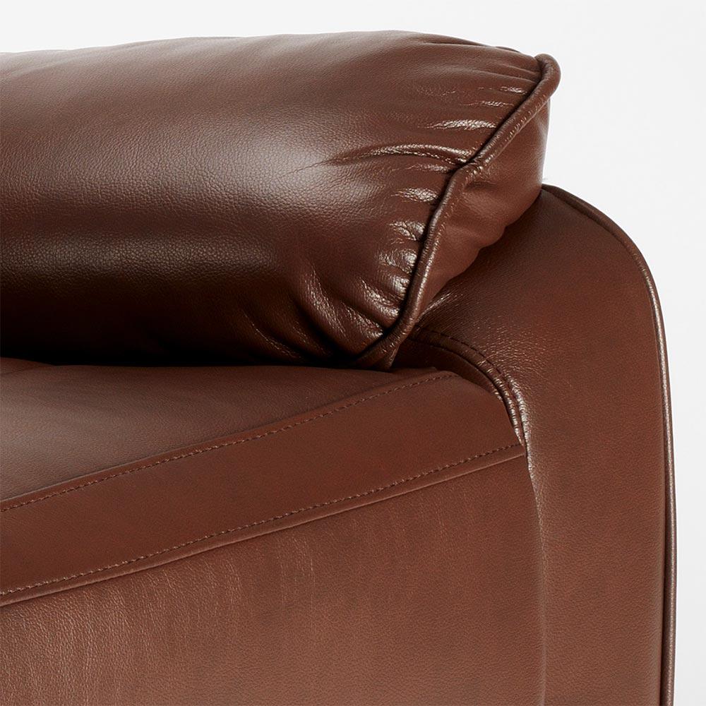 miniature 46 - Poltrona Relax Reclinabile Dondolo Poggiapiedi Rotazione 360 Sissi