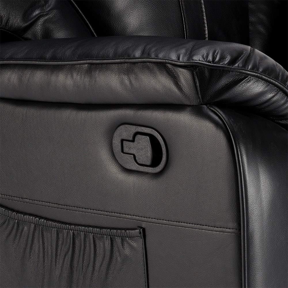 miniature 26 - Poltrona Relax Reclinabile Dondolo Poggiapiedi Rotazione 360 Sissi
