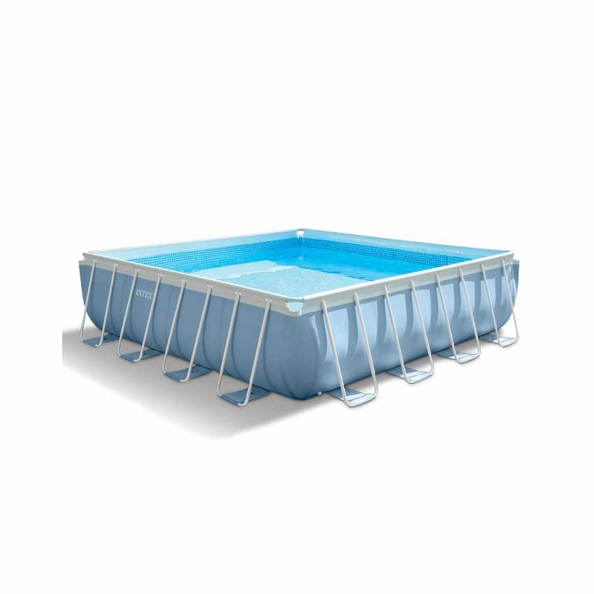 Intex 28764 Prism Frame Above Ground Pool Square 427x427cm - indoor