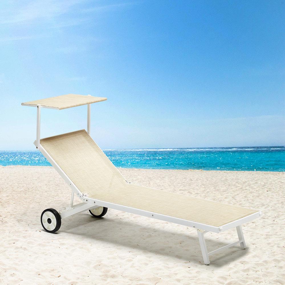 Lettino Spiaggia Mare Prendisole ALABAMA