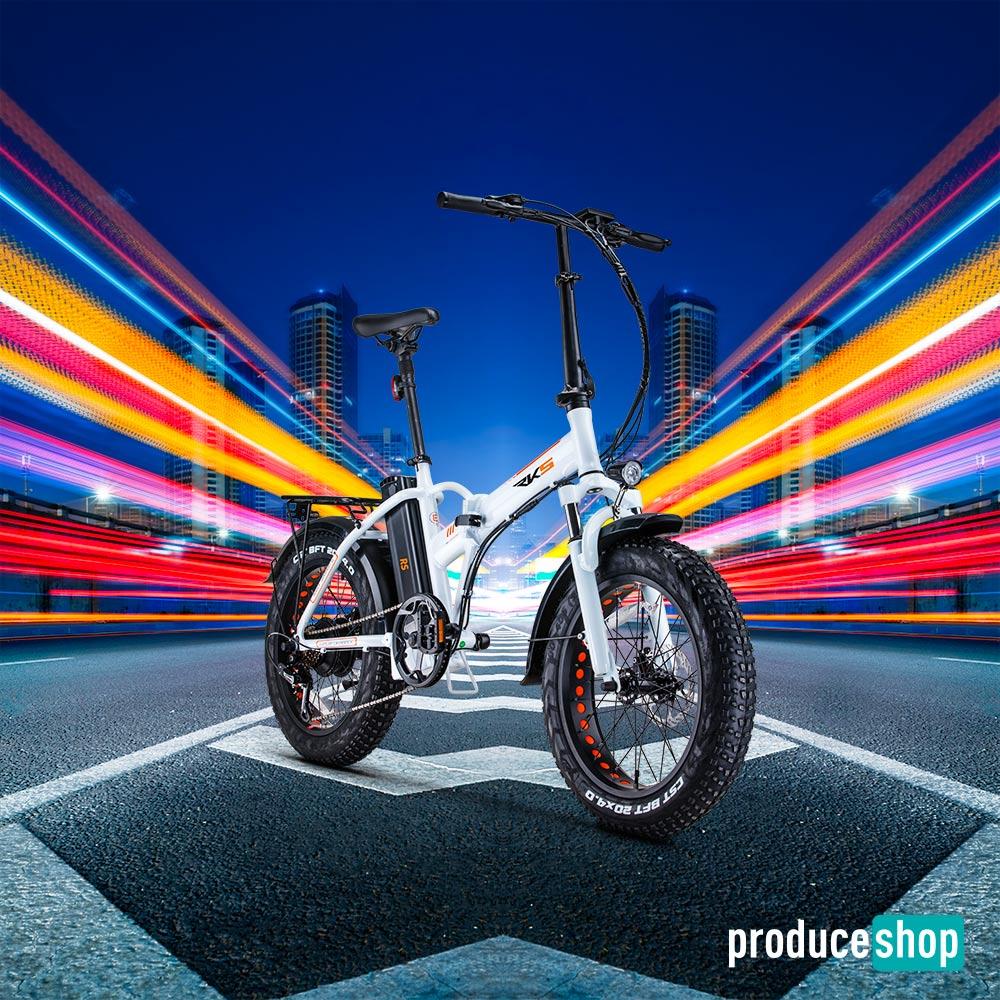 Bicicletta Elettrica Ebike Pieghevole RSIII 250W Batteria Litio Shimano