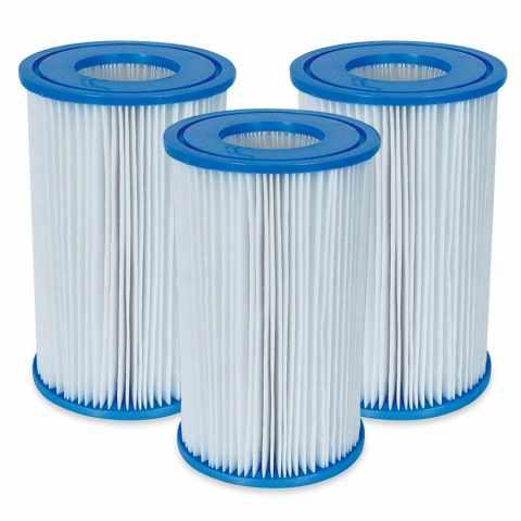 a98c548f Cartuccia filtro Intex 29003 modello A 3 Pezzi per Pompa filtro piscina -  details