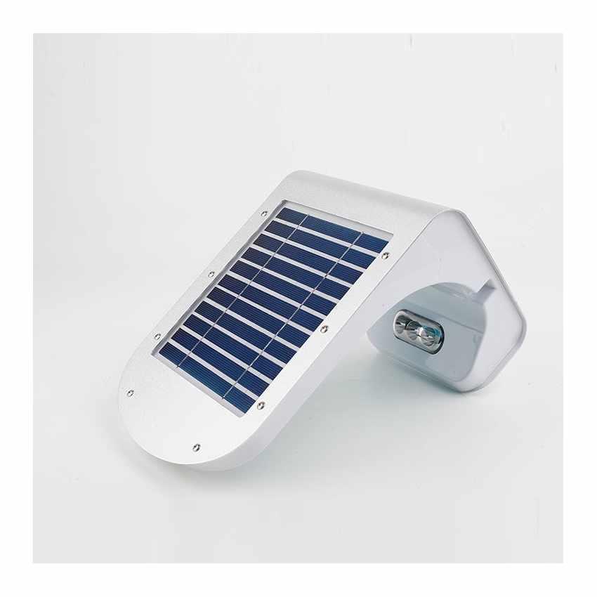 Lampada a Muro Solare per Giardino Esterni 28 LED Sensore Movimento REFLEX - migliore