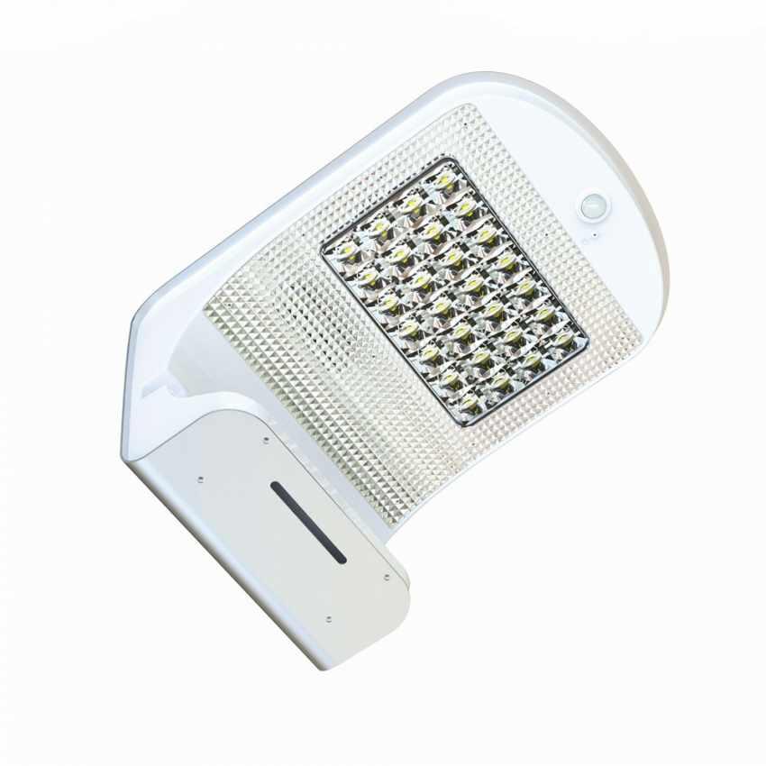 Lampada a Muro Solare per Giardino Esterni 28 LED Sensore Movimento REFLEX - interno
