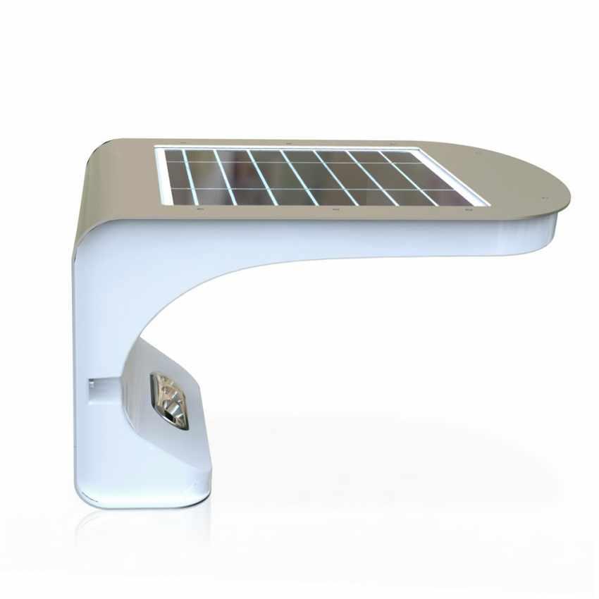 Lampada a Muro Solare per Giardino Esterni 28 LED Sensore Movimento REFLEX - scontato