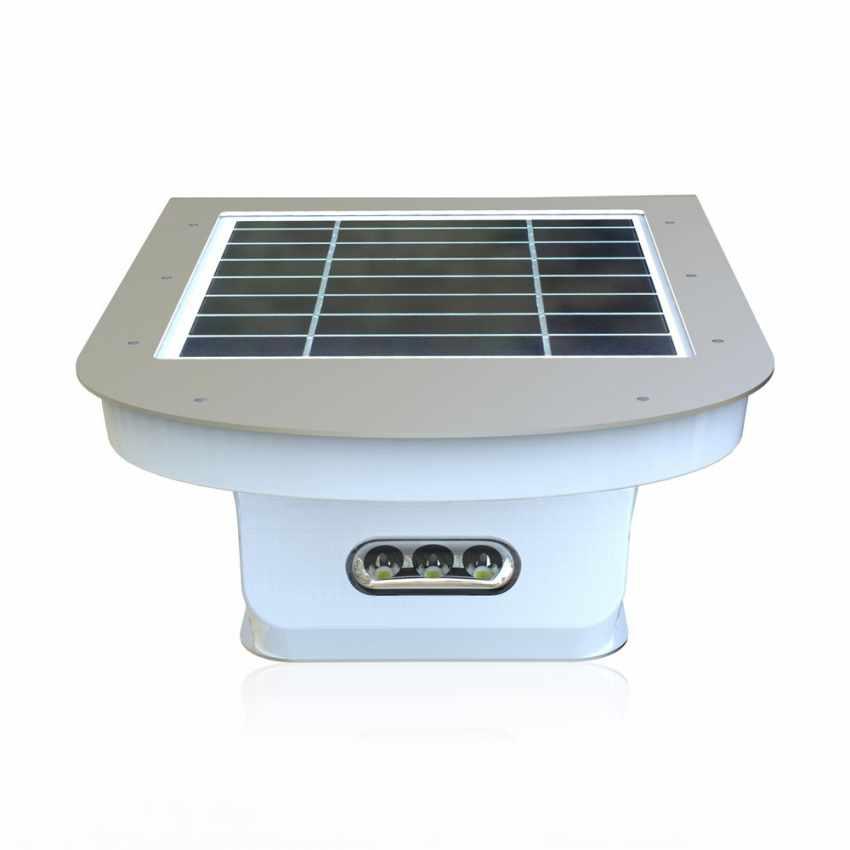 Lampada a Muro Solare per Giardino Esterni 28 LED Sensore Movimento REFLEX - arredamento