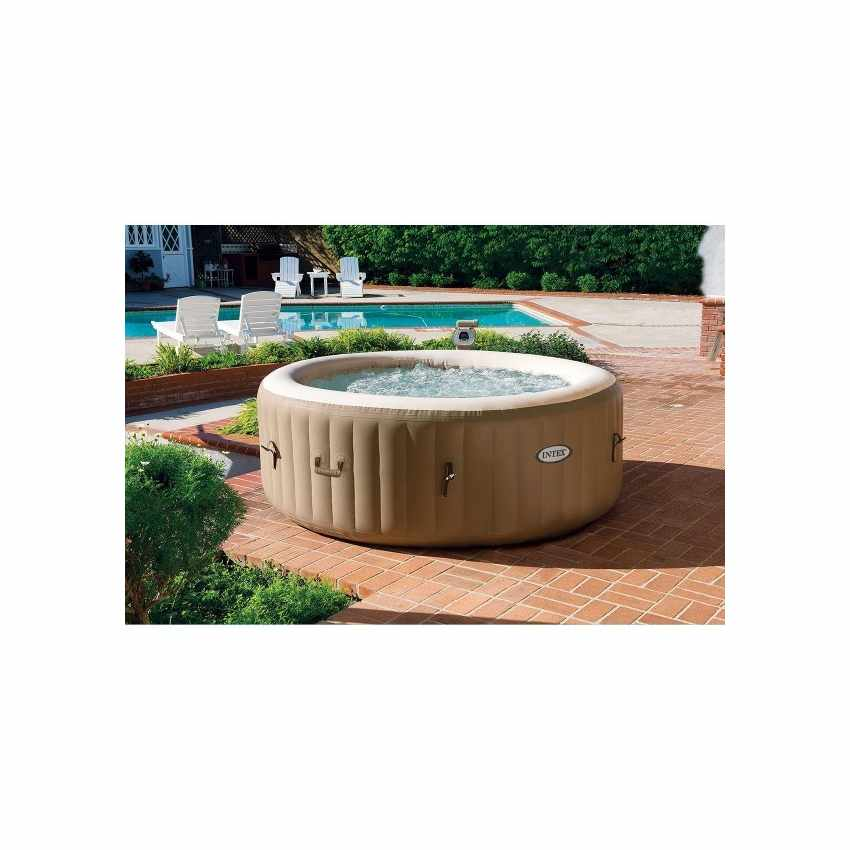 Idromassaggio gonfiabile Intex 28404 Bubble spa rotonda 196x71 - promo