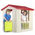 Casetta di Plastica Gioco per Bambini Giardino Happy House Feber