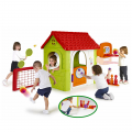 Casetta con giochi per bambini da giardino Multi Activity House Feber