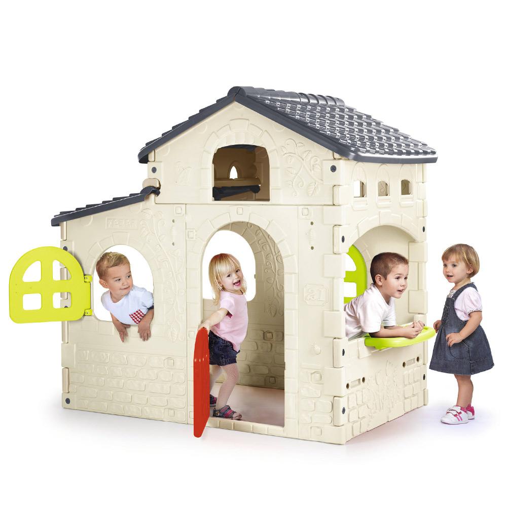 Casa Casetta per bambini da gioco in plastica Candy House Feber