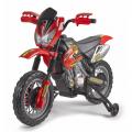 Minimoto da cross enduro elettrica per bambini Motorbike Cross 6V Feber