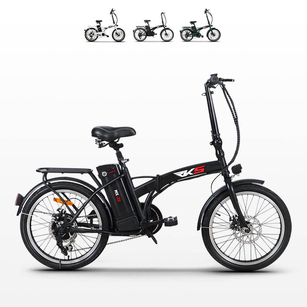 Bici bicicletta elettrica ebike pieghevole Mx25 250W Shimano