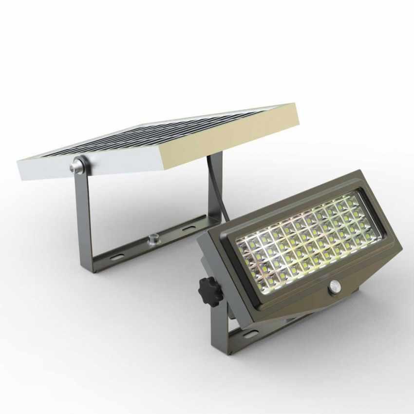 Faretto a Energia Solare LED con Sensore Crepuscolare SUNLIGHT - foto