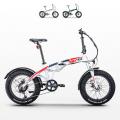 Bici bicicletta elettrica ebike pieghevole Rks Tnt 15 Shimano