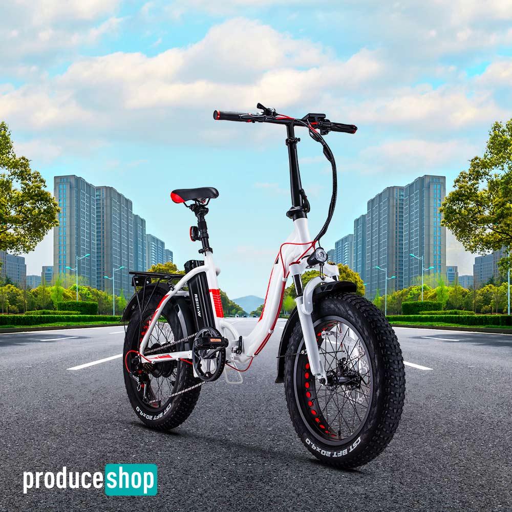 Bicicletta Elettrica Ebike Pieghevole RKS RSI-X Shimano