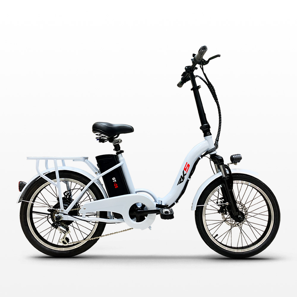 miniatura 13 - Bici bicicletta elettrica ebike pieghevole Shimano RKS GT 25