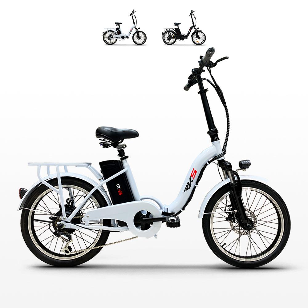 Bici bicicletta elettrica ebike pieghevole Shimano RKS GT 25