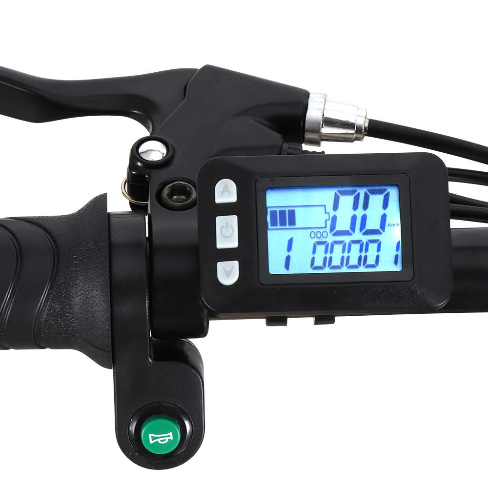 miniatura 15 - Bici bicicletta elettrica ebike pieghevole Shimano RKS GT 25
