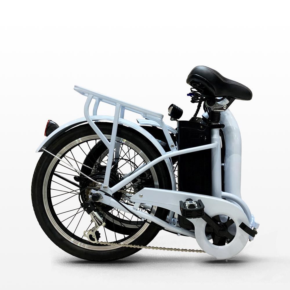 miniatura 21 - Bici bicicletta elettrica ebike pieghevole Shimano RKS GT 25