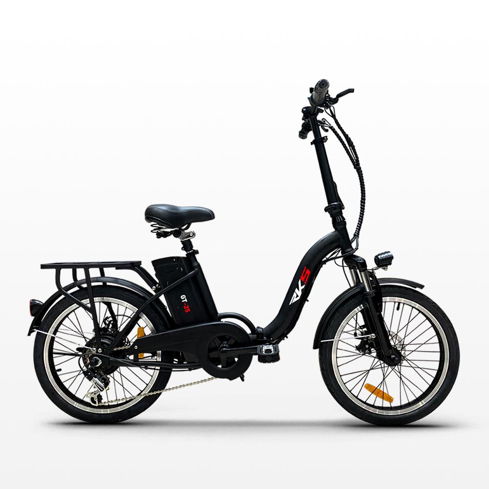 miniatura 20 - Bici bicicletta elettrica ebike pieghevole Shimano RKS GT 25