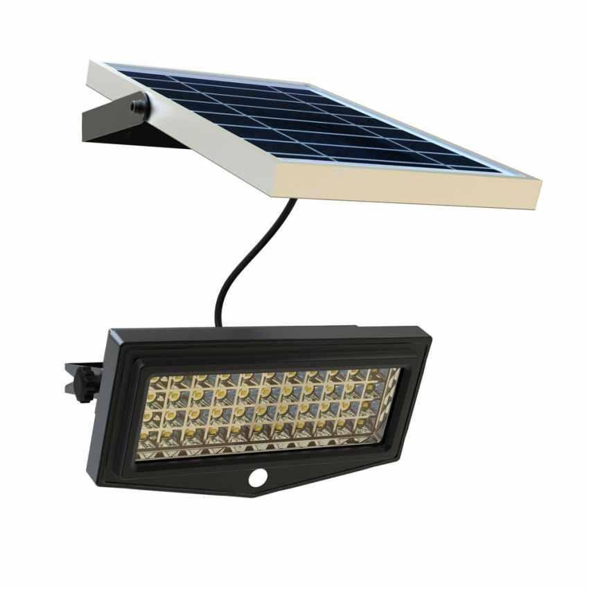 Faro a Muro LED a Energia Solare con Sensore Movimento FLEXIBLE NEW - nuovo