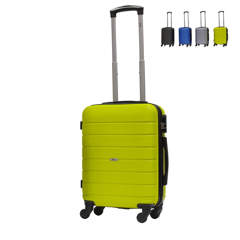 Trolley bagaglio a mano valigia rigida design 4 ruote MOSCA - forniture