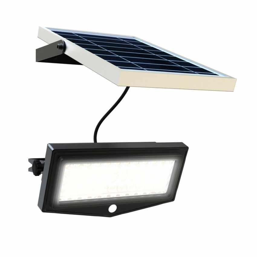 Faro a Muro LED a Energia Solare con Sensore Movimento FLEXIBLE NEW - dettaglio