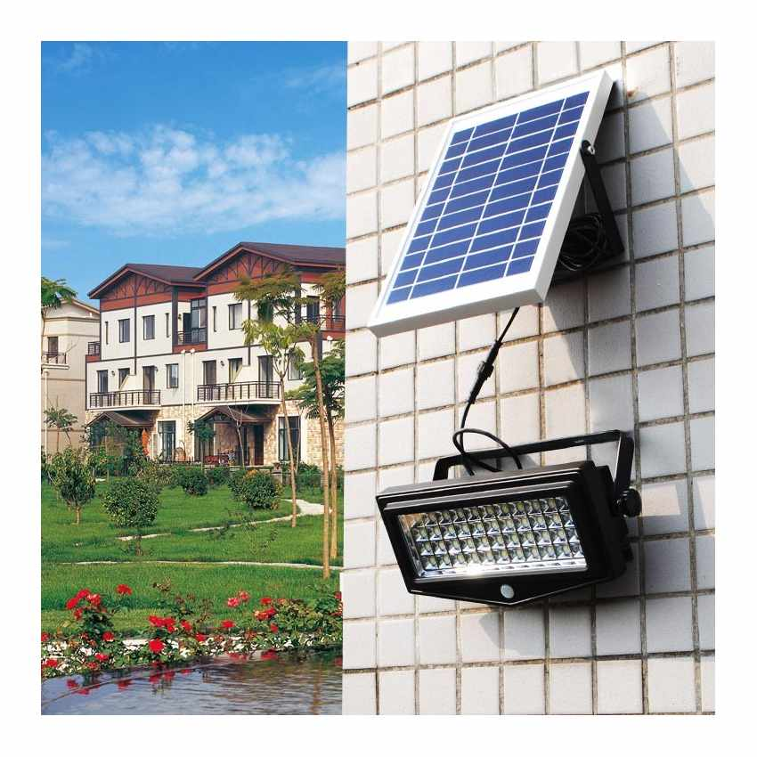 Faro a Muro LED a Energia Solare con Sensore Movimento FLEXIBLE NEW - promo