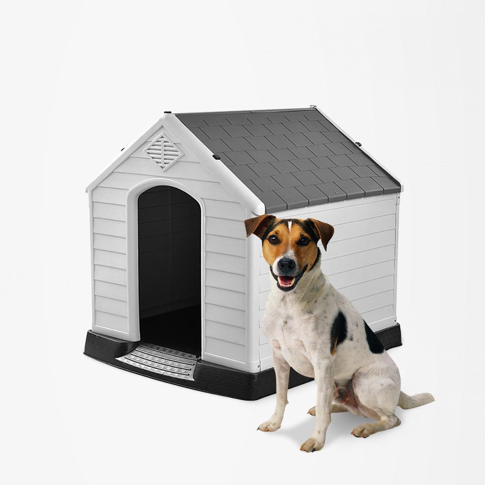 Cuccia casetta per cani di taglia piccola in plastica giardino Coco