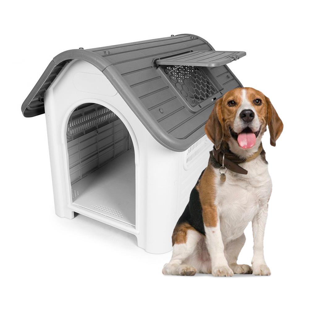 Cuccia per cani taglia media in plastica esterno interno Bella