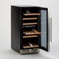 Cantinetta per vino frigo professionale 32 bottiglie doppia temperatura classe A BACCHUS XXL - new