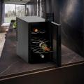 Cantinetta frigo per vino professionale 8 bottiglie Bacchus VIII per privati e aziende - details