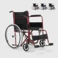 Sedia a Rotelle carrozzina pieghevole ortopedica tessuto disabili e anziani Lily