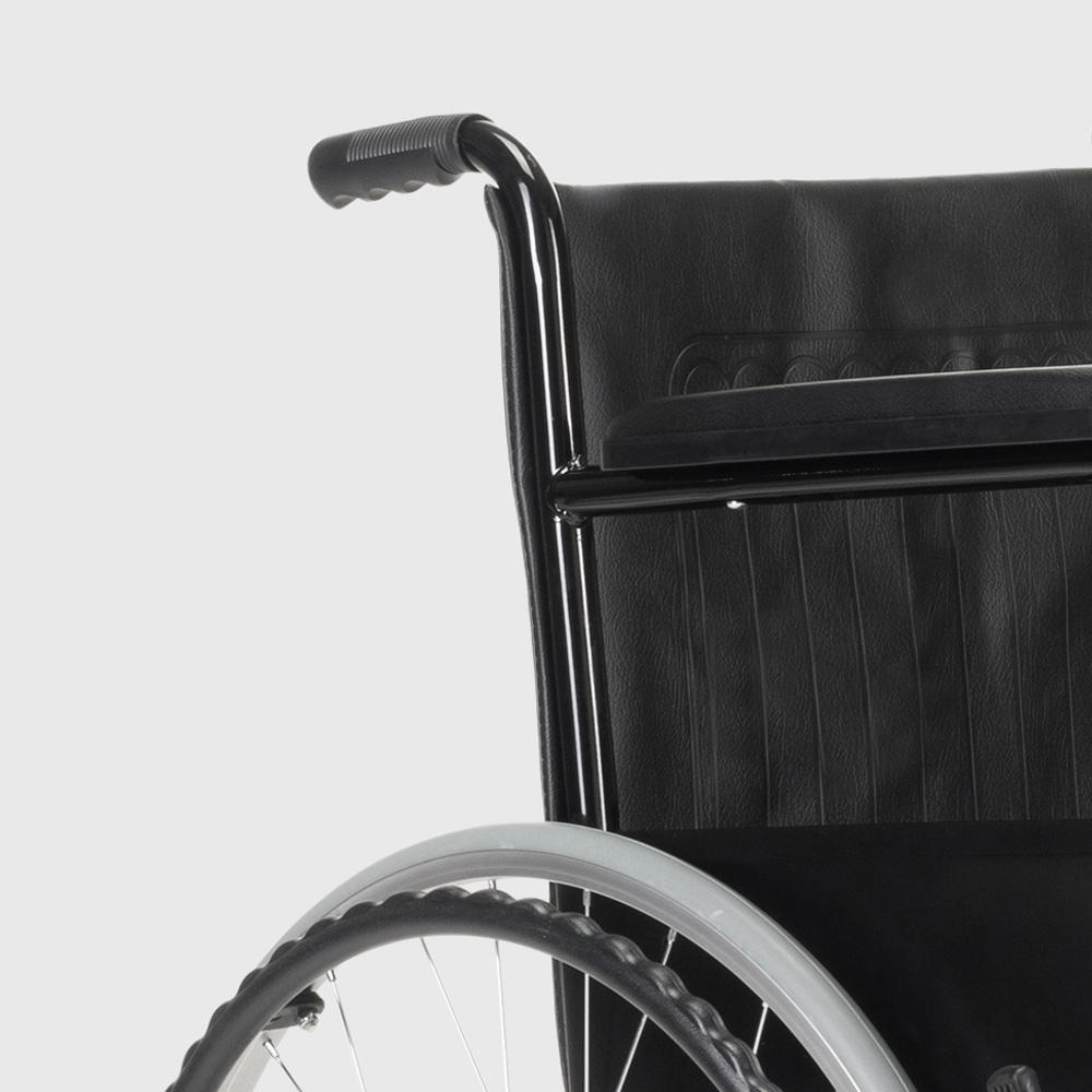 miniatura 38 - Sedia a Rotelle carrozzina con supporto alza gambe pieghevole disabili e anziani