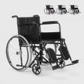 Sedia a Rotelle carrozzina con supporto alza gambe pieghevole disabili e anziani Peony