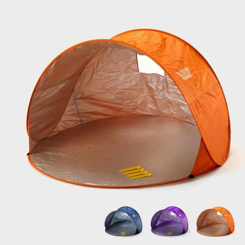 Tente 2 Places Pare Soleil De Plage Abri Soleil Camping Tendafacile