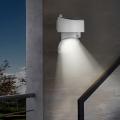 Lampada Applique Solare Luce Led rotante 180° sensore di movimento Tumultus