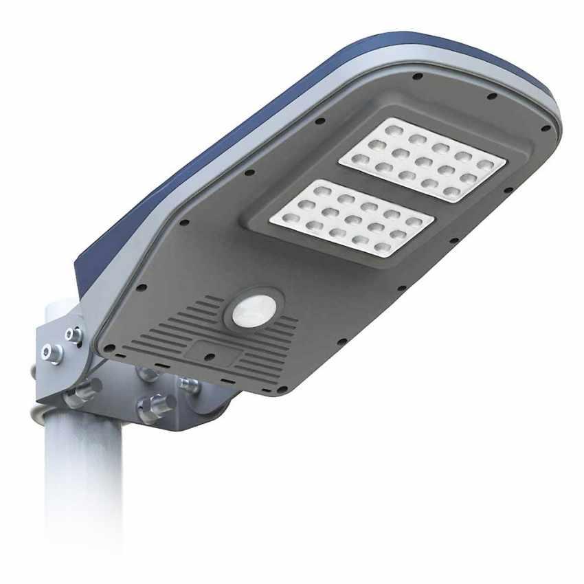 Lampione Stradale Solare a Led Giardino con Telecomando e Sensore di Movimento CALLISTO - forniture