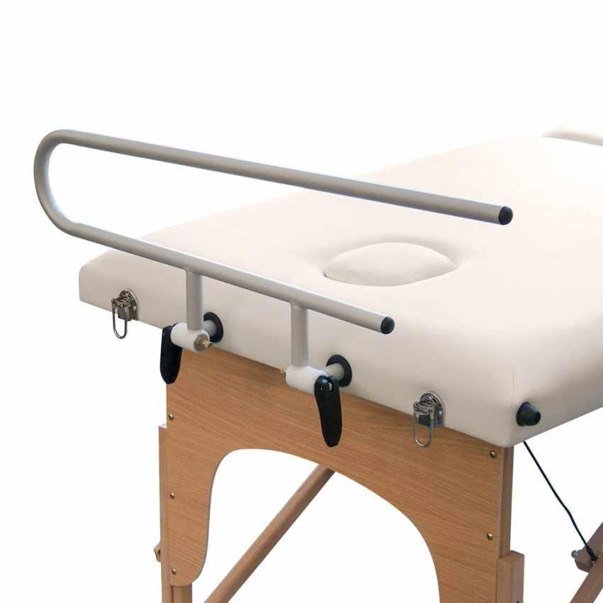 Supporto portarotolo in alluminio per lettini da massaggio LOADER - details