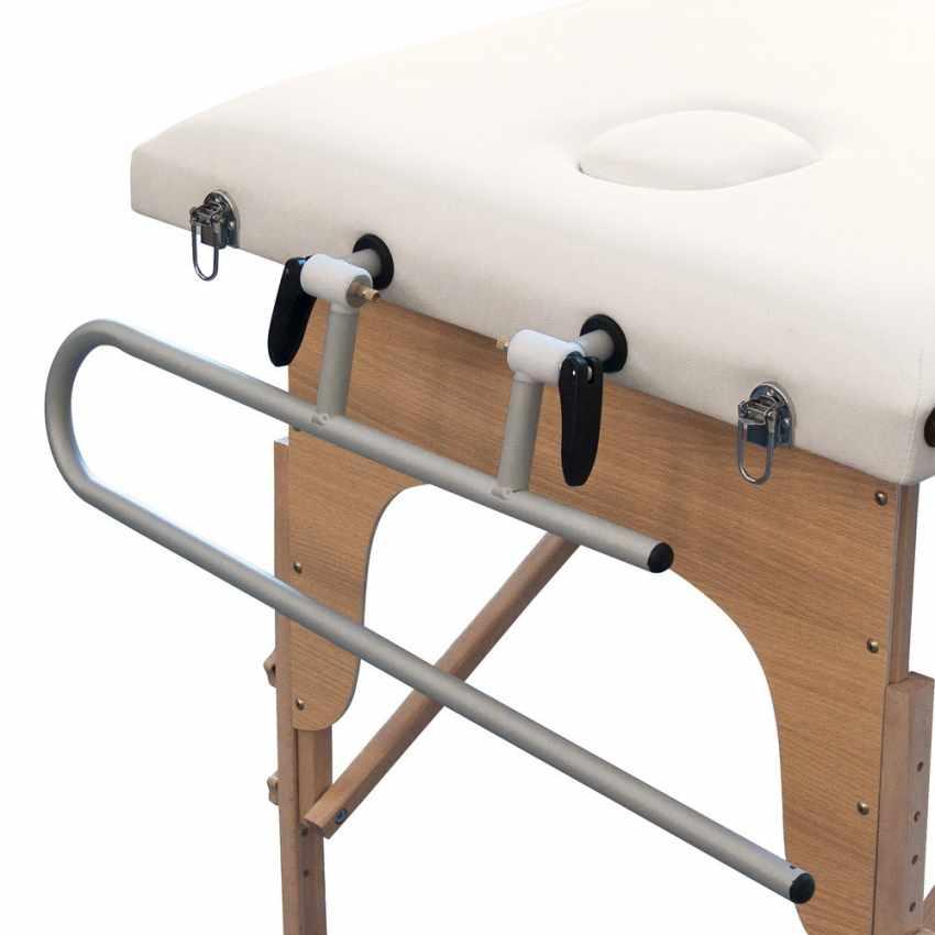 Supporto portarotolo in alluminio per lettini da massaggio LOADER - discount