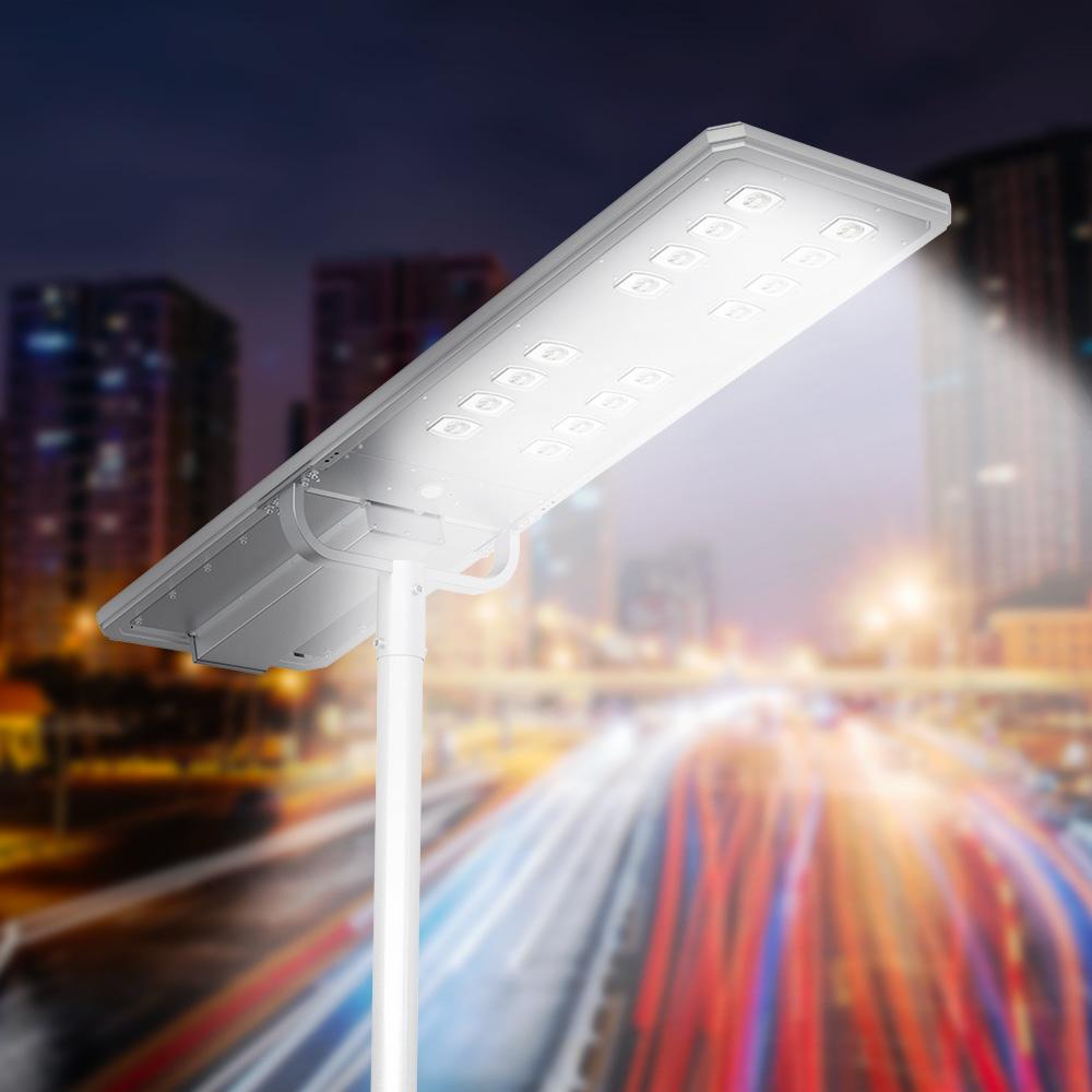 Lampione solare stradale Led 15000 Lumen sensore movimento e crepuscolare Voltron