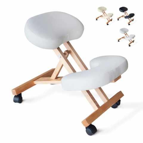 Sedia ortopedica ergonomica da ufficio in metallo balancesteel for Sedia design svedese