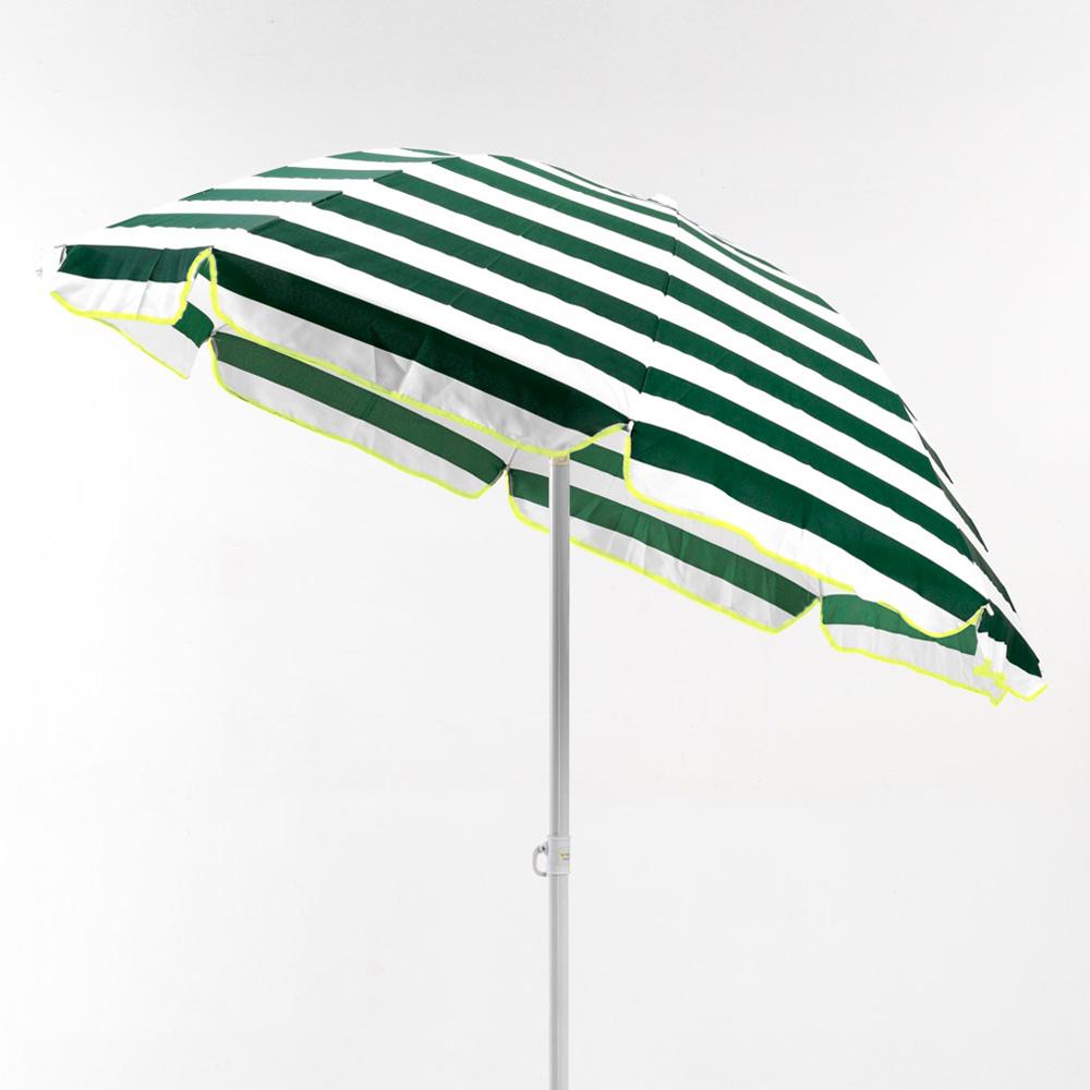 miniature 22 - Parasol de plage 200 cm portable coton Taormina