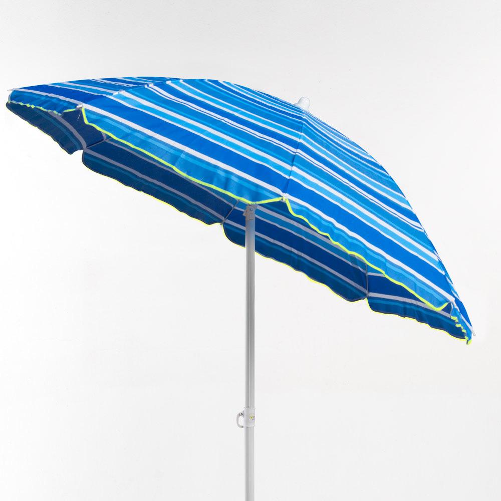 miniature 18 - Parasol de plage 200 cm portable coton Taormina
