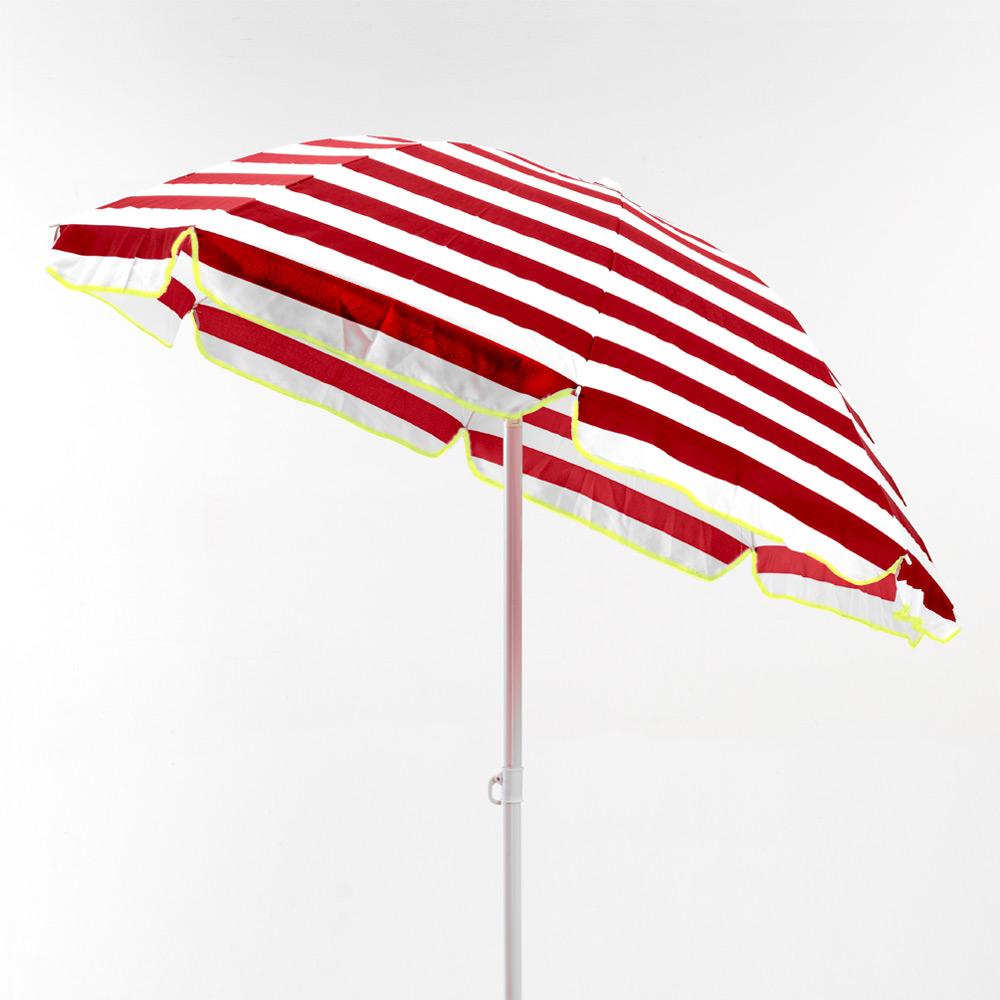 miniature 30 - Parasol de plage 200 cm portable coton Taormina