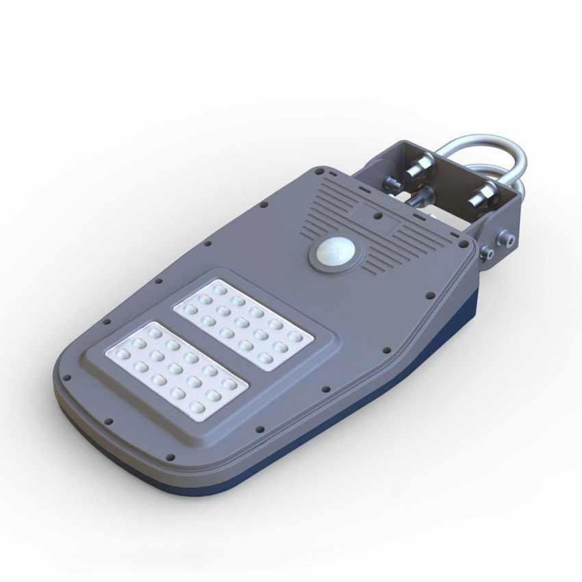 Lampione Stradale Solare a Led Giardino con Telecomando e Sensore di Movimento CALLISTO - price