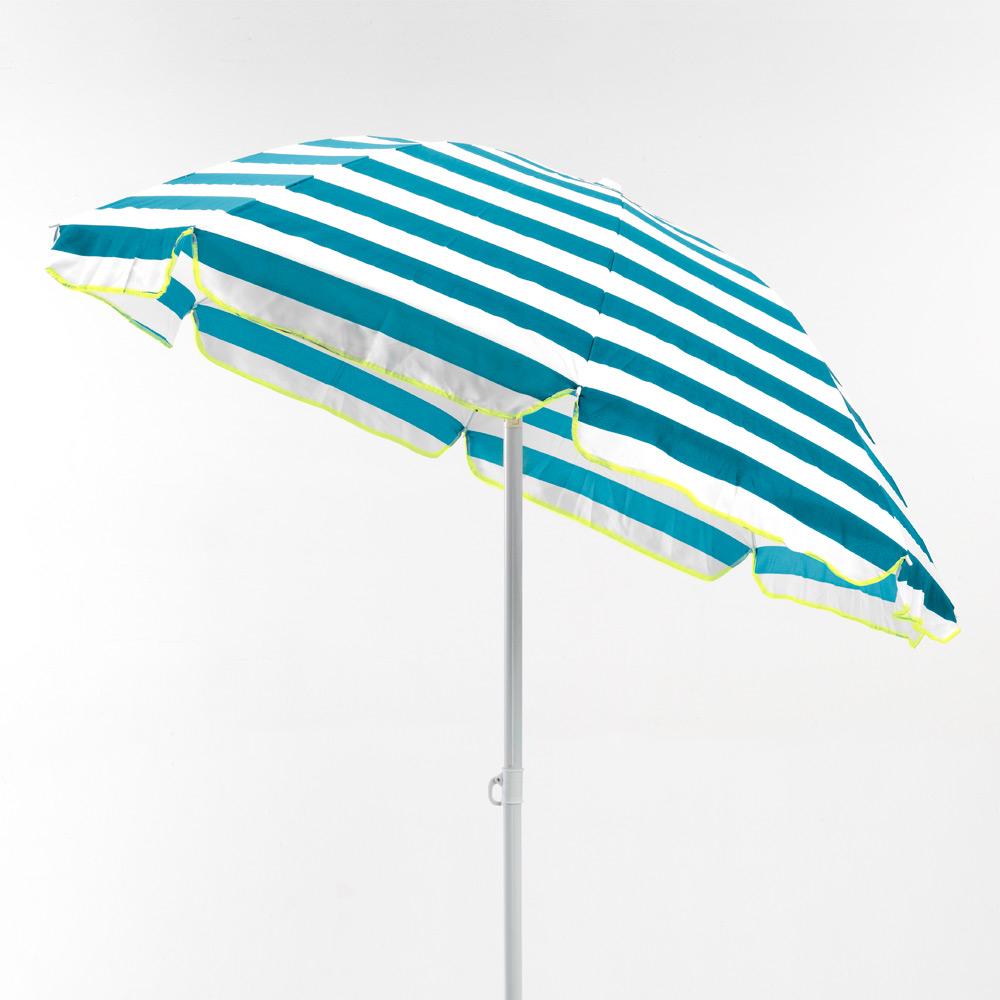 miniature 34 - Parasol de plage 200 cm portable coton Taormina